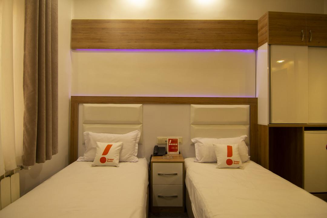 هتل مهر اتاق دو تخته سینگل VIP