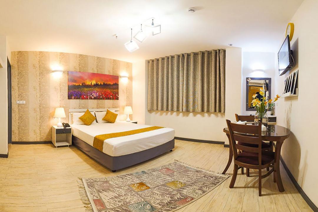 هتل آفتاب اتاق دو تخته دابل