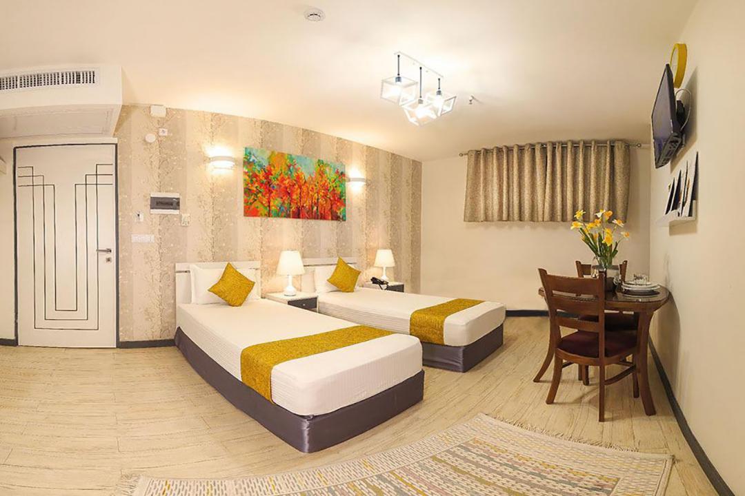هتل آفتاب اتاق دو تخته سینگل