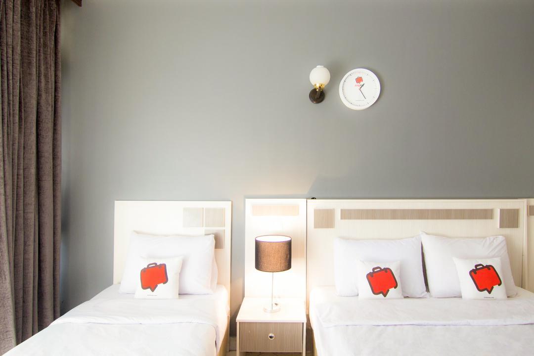 هتل آپارتمان آیسان اتاق سه تخته دابل سینگل