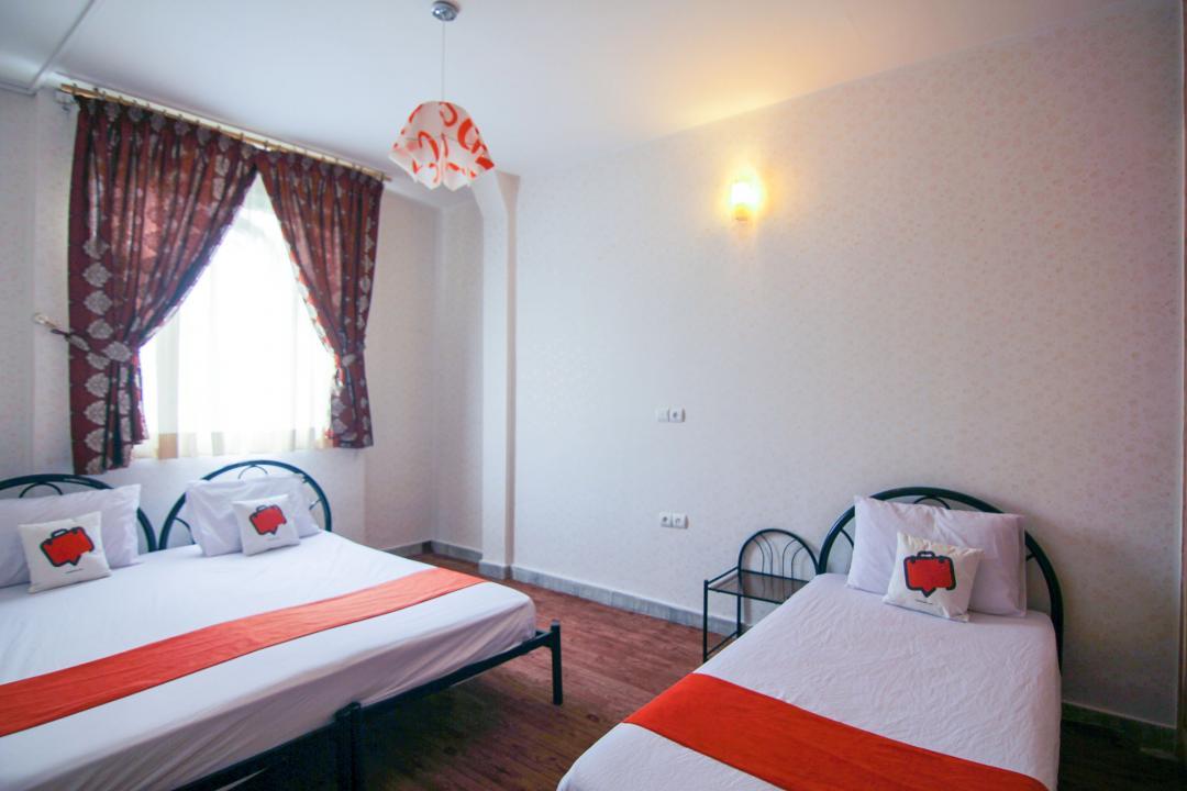 هتل آپارتمان آجیلیان اتاق شش تخته دابل سینگل
