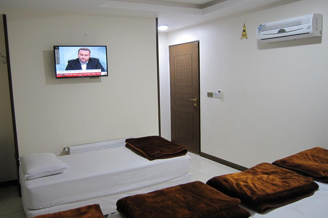 مهمانپذیر علی بابا اتاق پنج تخته سینگل
