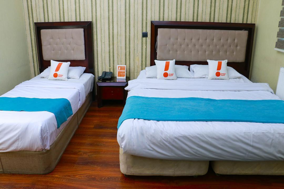 هتل آپادانا اتاق سه تخته دابل سینگل