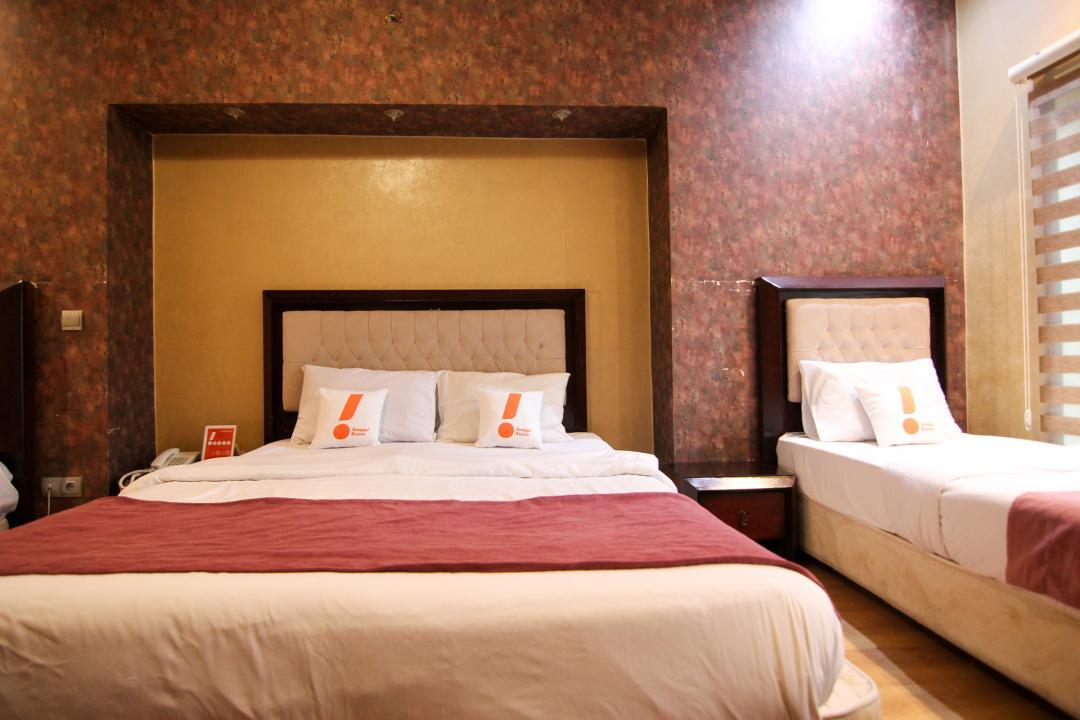 هتل آپادانا اتاق چهار تخته دابل سینگل