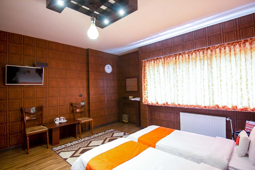 هتل کاسپین اتاق دو تخته سینگل