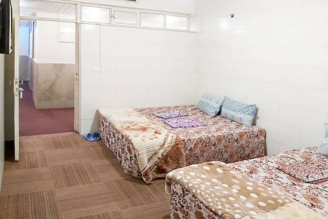 مهمانپذیر دشتی اتاق چهار تخته دابل