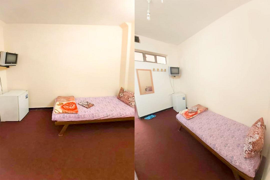 مهمانپذیر دشتی اتاق یک تخته - بدون سرویس