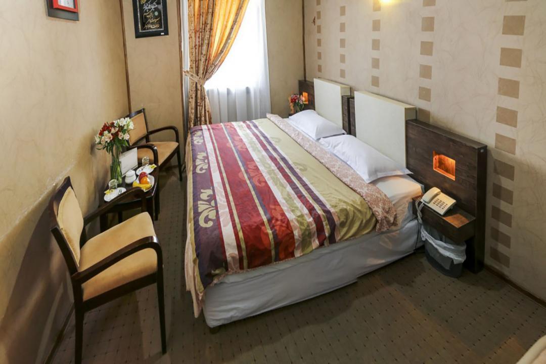 هتل فرهنگ و هنر اتاق دو تخته دابل
