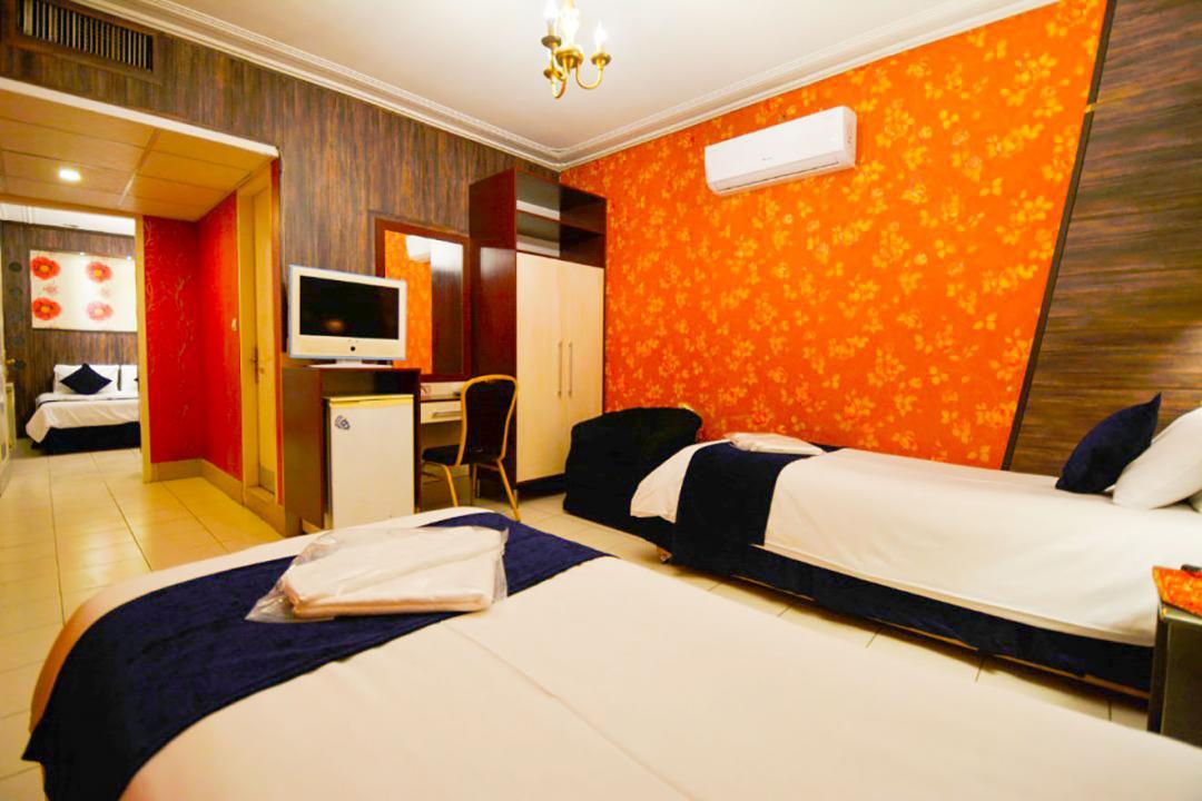 هتل حافظ شیراز اتاق دو تخته سینگل برای یک نفر