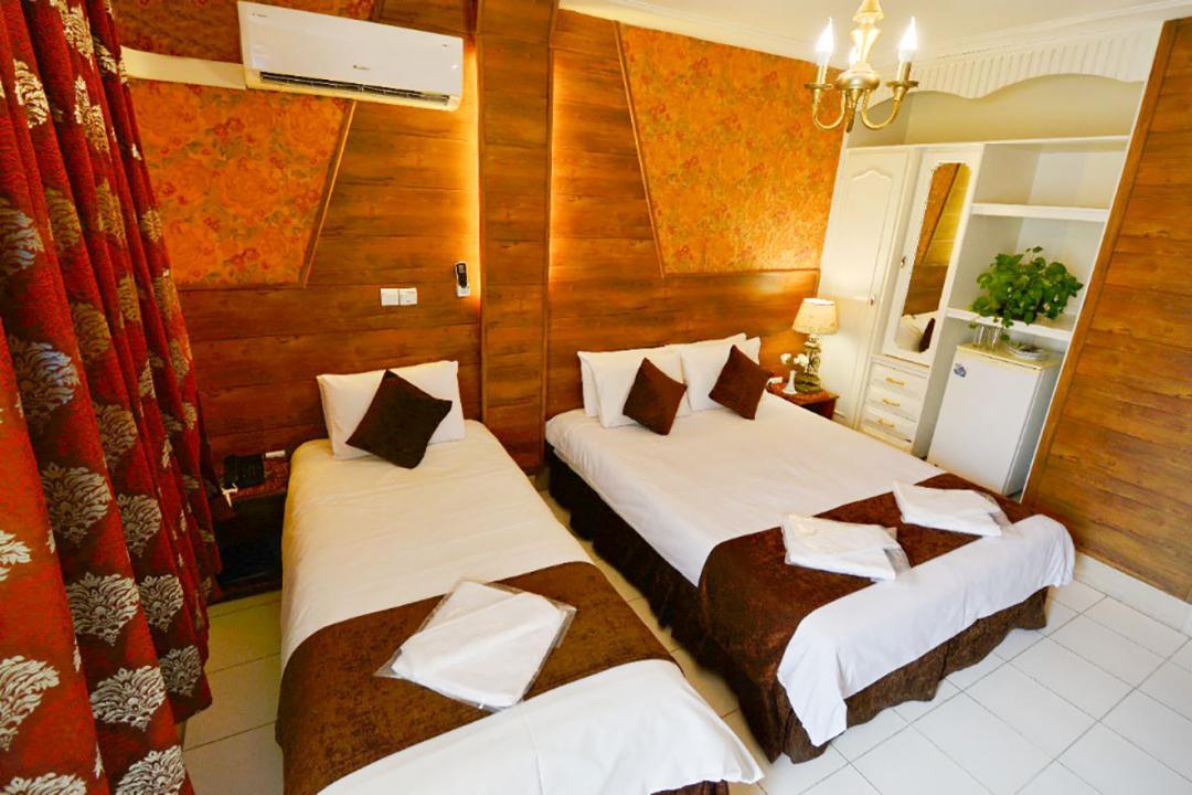 هتل حافظ شیراز اتاق سه تخته دابل سینگل