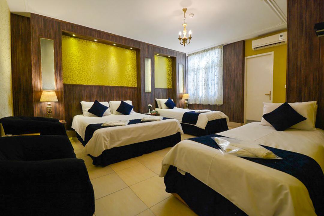 هتل حافظ شیراز اتاق چهار تخته دابل سینگل