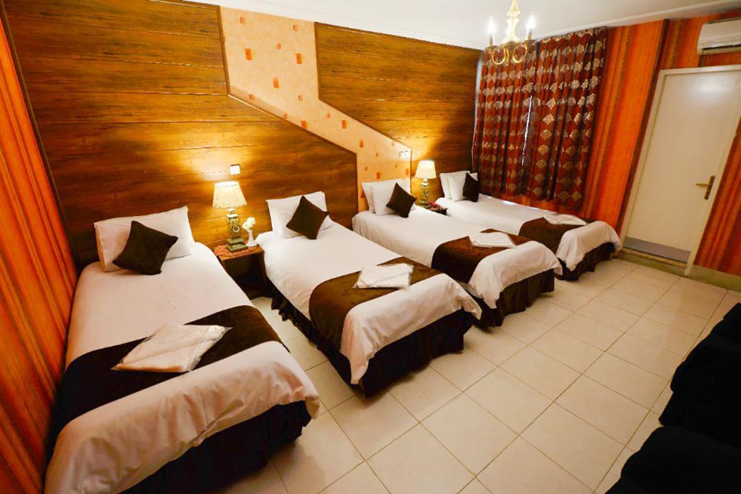 هتل حافظ شیراز اتاق چهار تخته سینگل