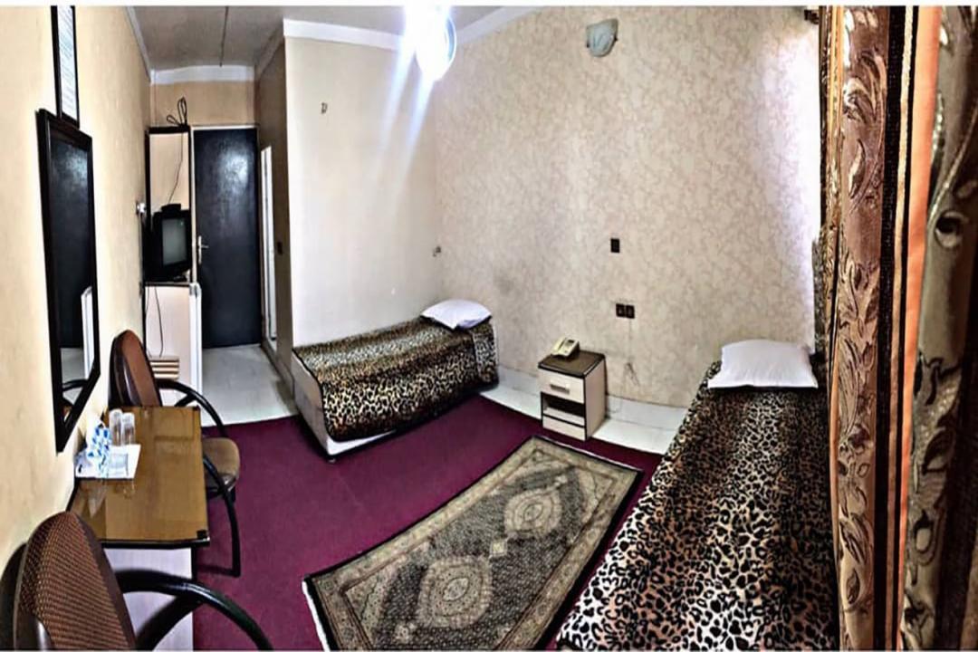 هتل ایران تبریز اتاق دو تخته سینگل