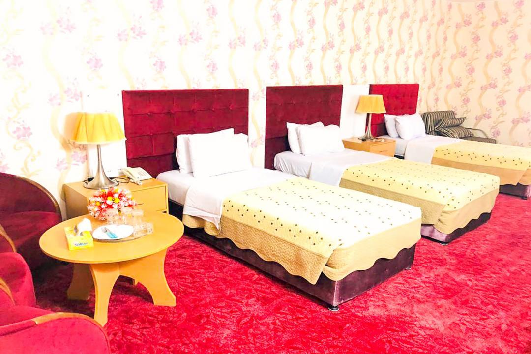 هتل ایران اتاق سه تخته سینگل