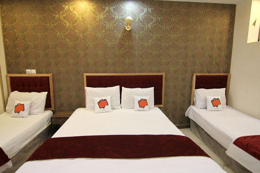 هتل آپارتمان جمالی سوییت چهار تخته دابل سینگل