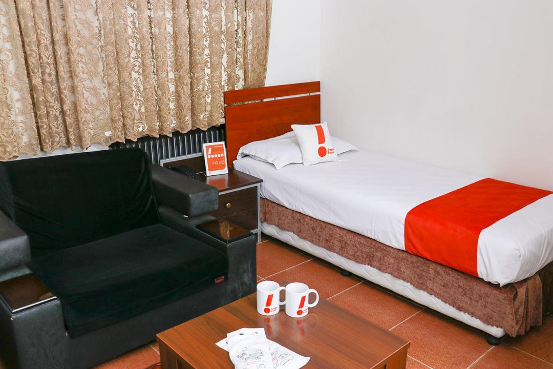 هتل مرکزی اتاق یک تخته