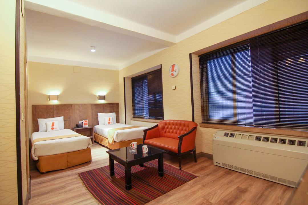 هتل مشهد اتاق دو تخته سینگل