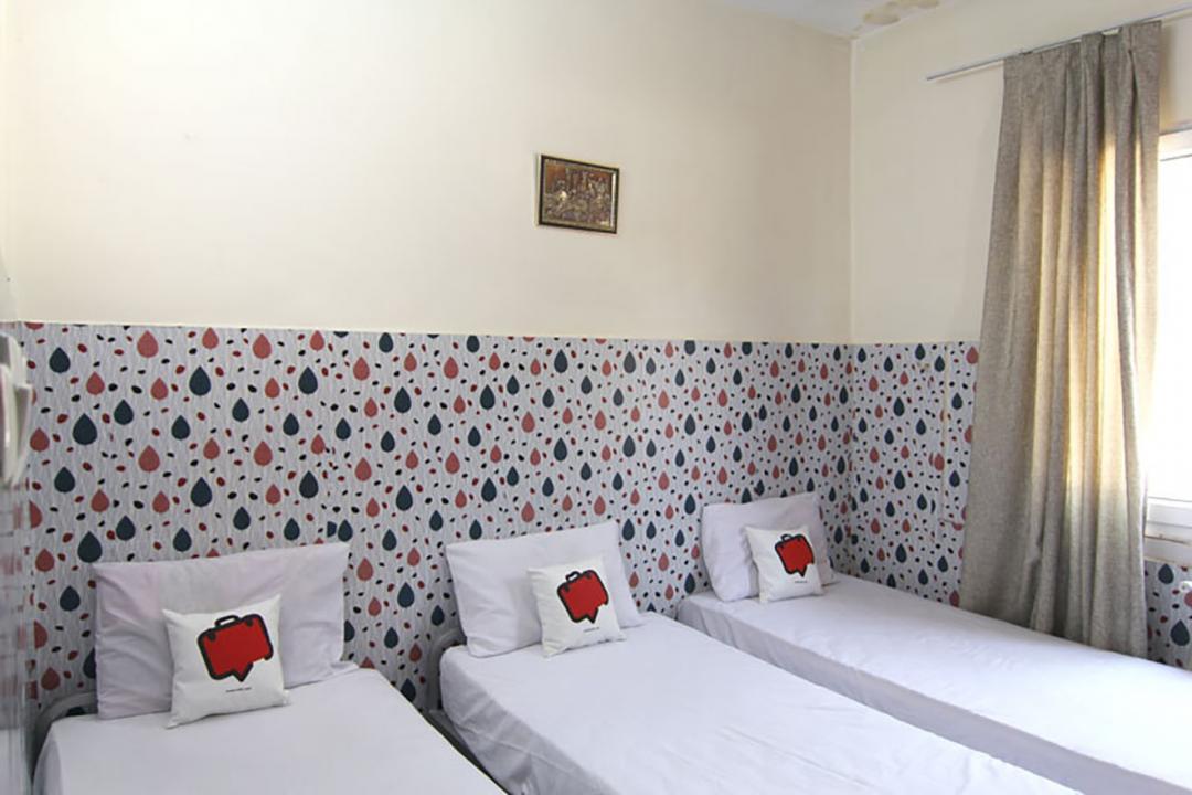 مهمانپذیر محمدی اتاق سه تخته سینگل - بدون سرویس