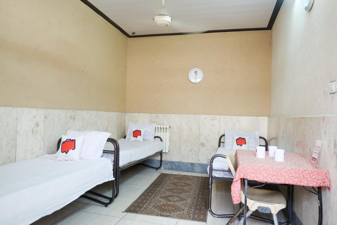 مهمانپذیر نمونه اتاق سه تخته سینگل  - بدون سرویس