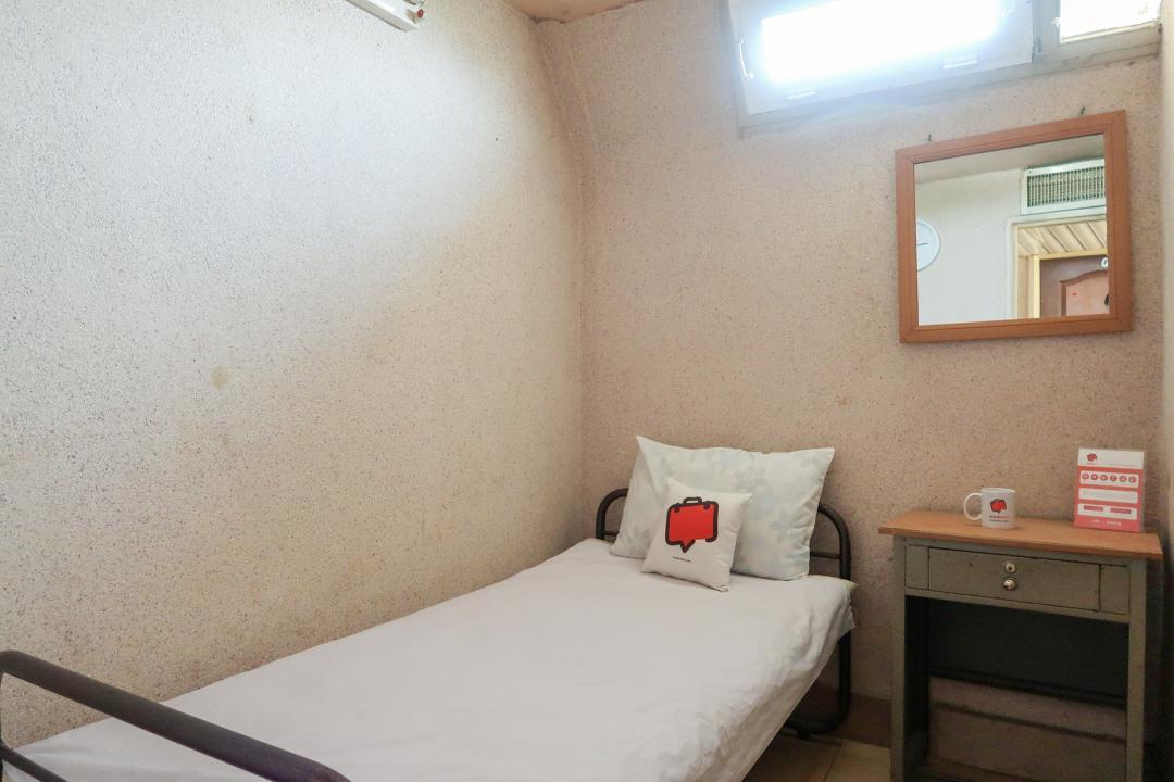 مهمانپذیر نمونه اتاق یک تخته - بدون سرویس