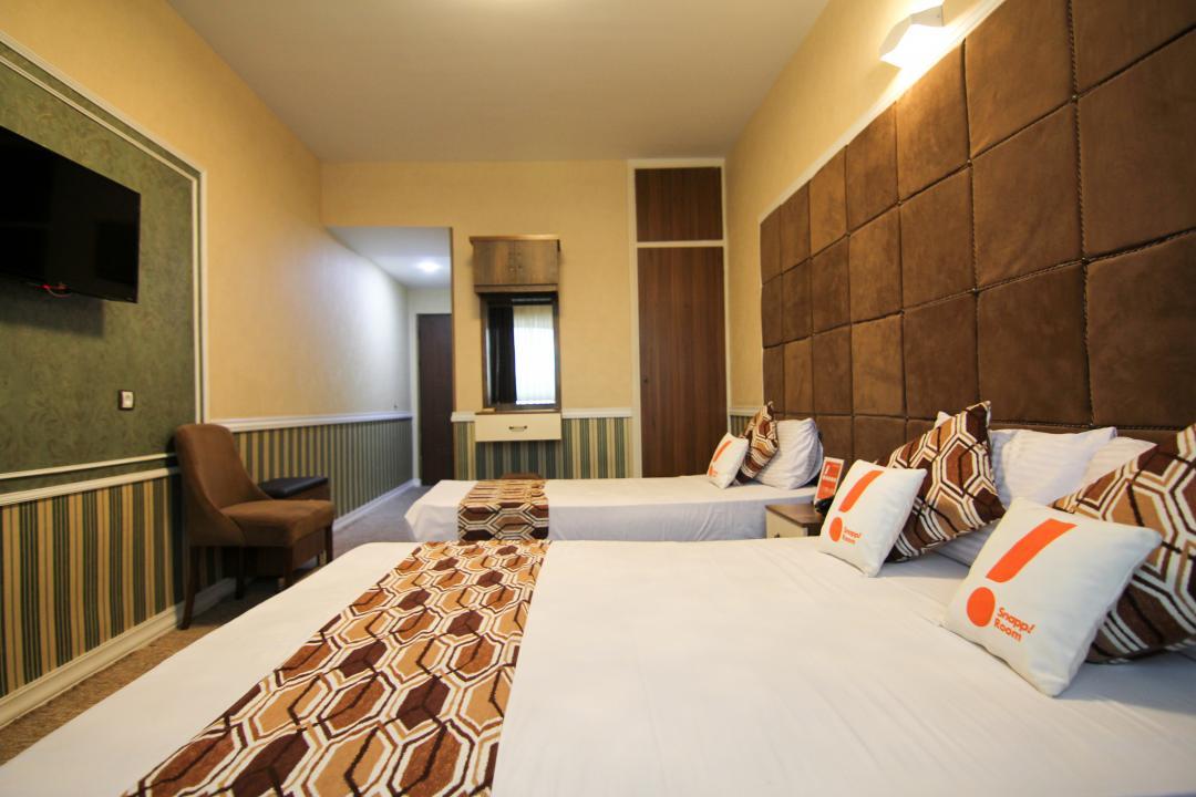 هتل پارادایس اتاق سه تخته دابل سینگل