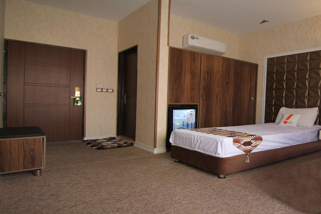 هتل پارادایس اتاق یک تخته