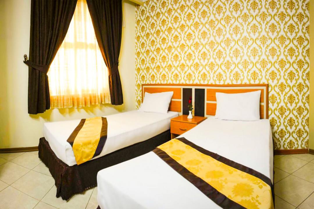 هتل پاویون سوییت دو تخته سینگل