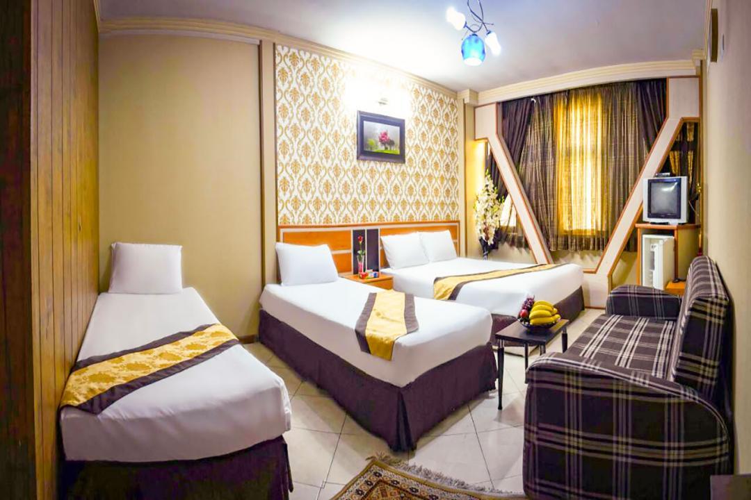 هتل پاویون سوییت شش تخته دابل سینگل 2