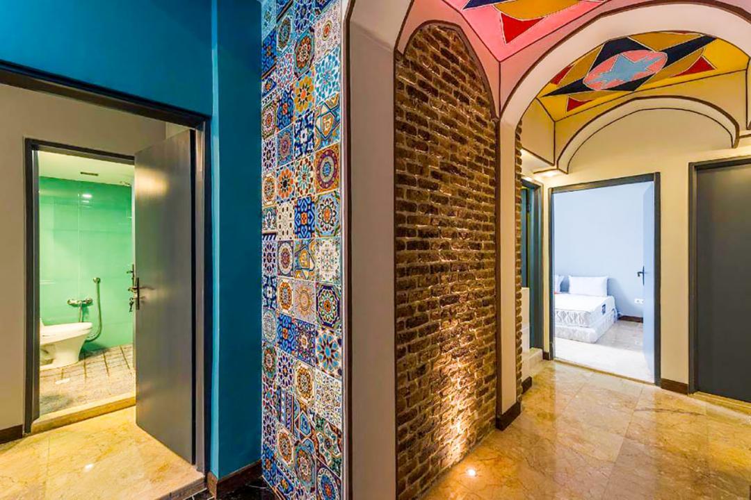 هاستل رگ راگ اتاق دو تخته دابل اقتصادی طبقه اول