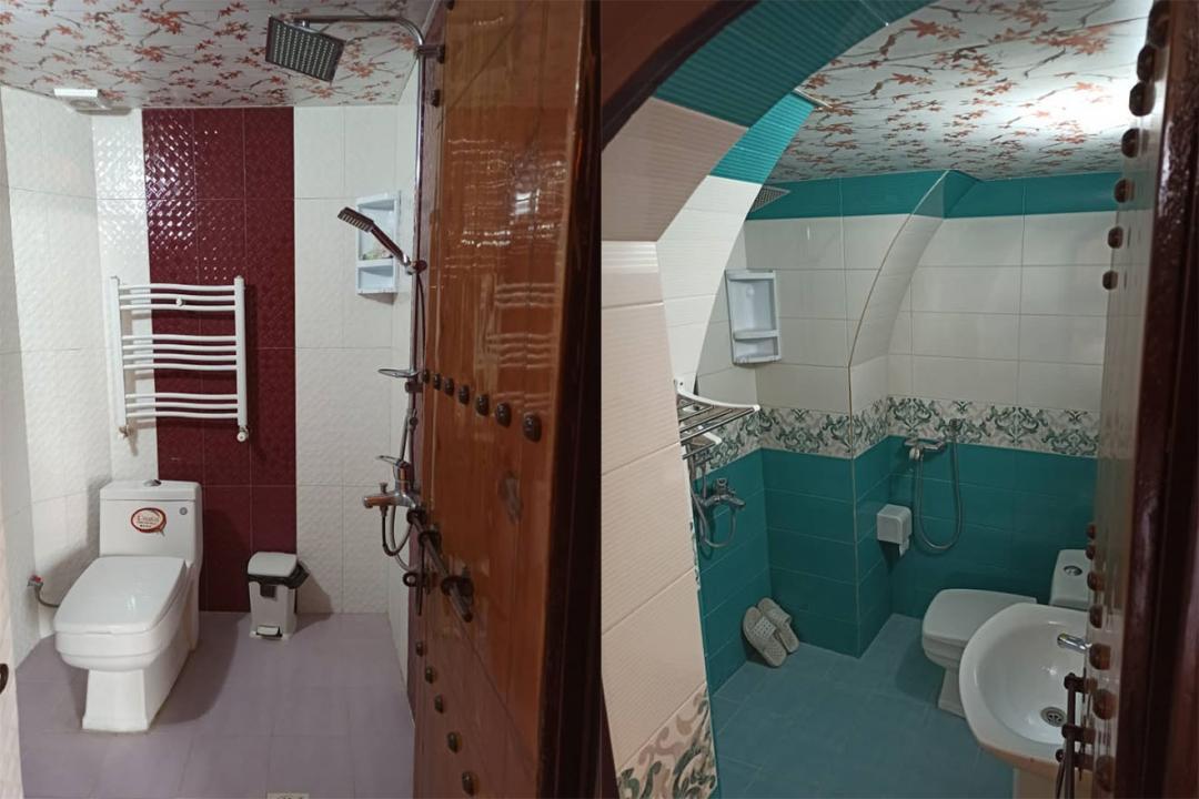 اقامتگاه سنتی سهراب اتاق سه تخته دابل سینگل - با حمام و سرویس