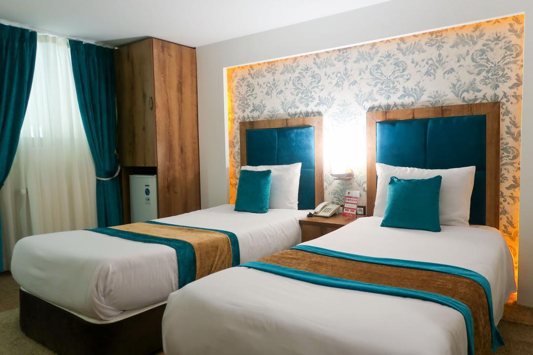 هتل تالار اتاق دو تخته سینگل