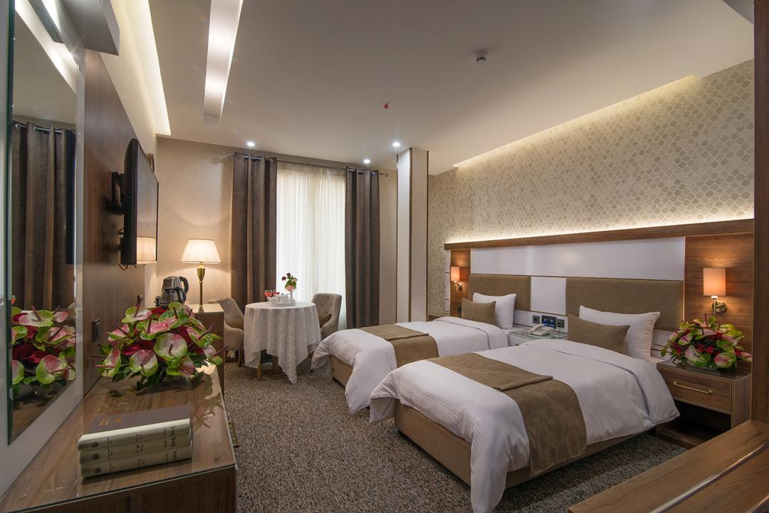 هتل ولیعصر اتاق دو تخته برای یک نفر