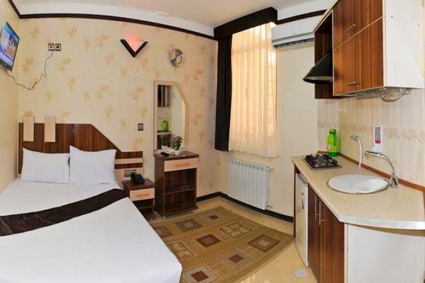 هتل آپارتمان علیزاده اتاق دو تخته دابلاتاق دو تخته دابل