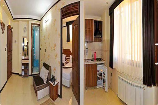هتل آپارتمان علیزاده اتاق پنج تخته - یک خواباتاق پنج تخته - یک خواب