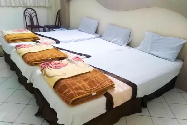هتل حامی اتاق شش تخته سینگلاتاق شش تخته سینگل