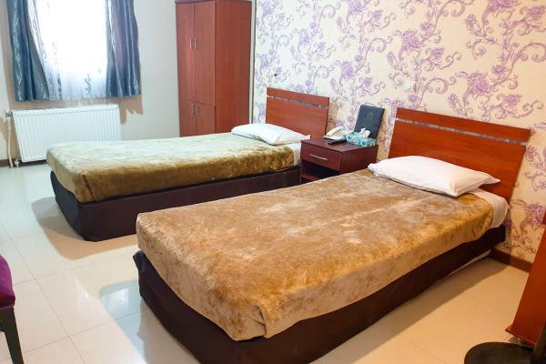 هتل مینا اتاق دو تخته سینگلاتاق دو تخته سینگل