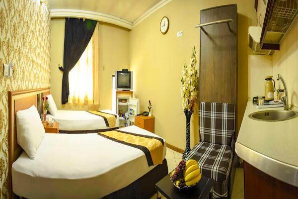 هتل پاویون سوییت سه تخته سینگلسوییت سه تخته سینگل