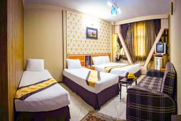 هتل پاویون سوییت چهار تخته دابل سینگلسوییت چهار تخته دابل سینگل